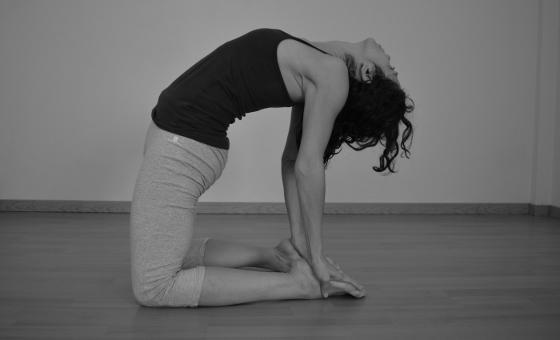 Ustrasana yin yoga