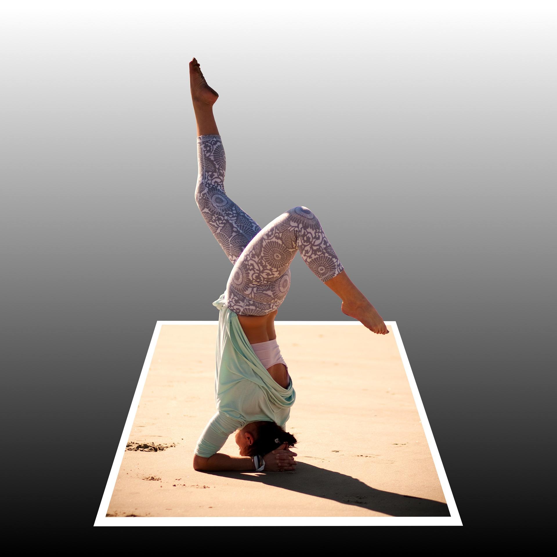verticale yoga