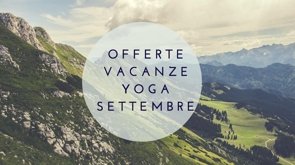 yoga settembre