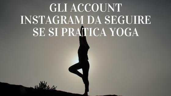 account instagram yoga