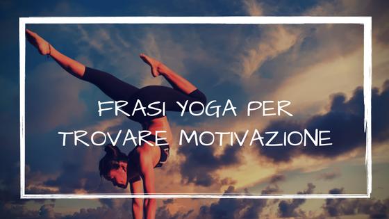 Frasi Yoga